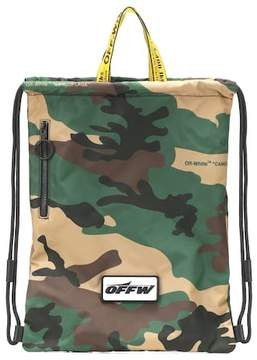 Off-White Technical drawstring tote
