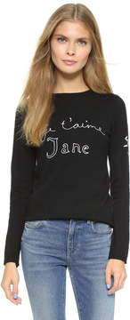 Bella Freud Je T'Aime Jane Sweater