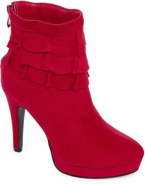 Two Lips 2 Lips Too Larz Womens Bootie