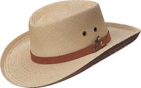 Scala 350GOS Gambler Straw Hat (Men's)