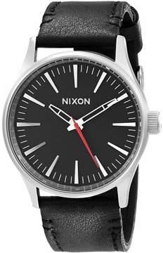 Nixon Leather Men's Watch, A377000