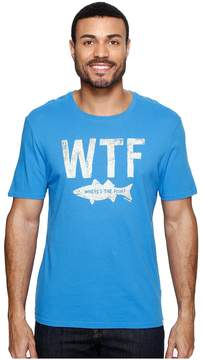 Life is Good WTF Fish Smooth Tee Men's T Shirt