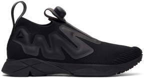 Reebok Classics Black PUMP Supreme ULTK Slip-On Sneakers