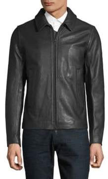 J. Lindeberg Classic Leather Jacket