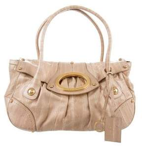 Dolce & Gabbana Eel Handle Bag - NEUTRALS - STYLE