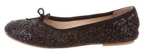 Bloch Girls' Glitter Ballet Flats