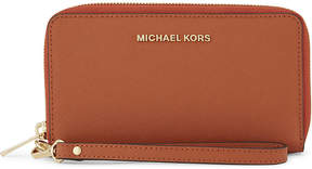 MICHAEL Michael Kors Jet set travel large leather phone wallet - ADMIRAL - STYLE