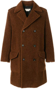 Marni Teddy bear double-breasted coat
