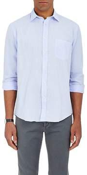 Hartford Men's Paul Cotton Chambray Shirt