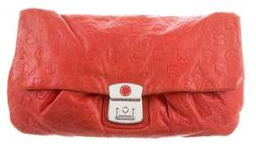 Marc by Marc Jacobs Embossed Leather Clutch