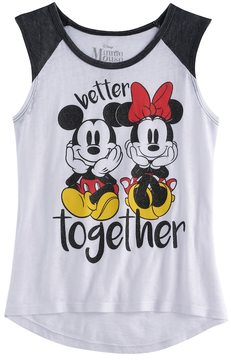 Disney Disney's Mickey Mouse & Minnie Mouse Better Together Graphic Tee