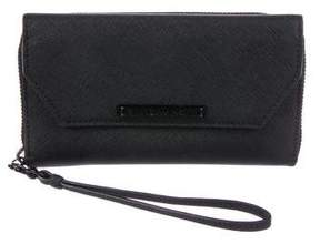 Rebecca Minkoff Leather Snap Wallet