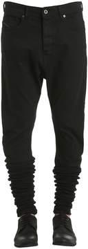 Diesel Black Gold Stretch Denim Jeans W/ Elastic Cuffs