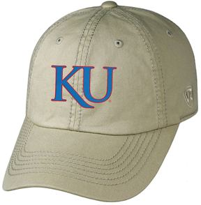 Top of the World Adult Kansas Jayhawks Crew Adjustable Cap