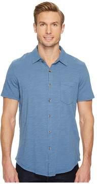 Mod-o-doc Montana Short Sleeve Button Front Shirt Men's Short Sleeve Button Up