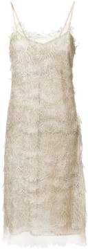 Ermanno Scervino embroidered midi dress