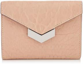 Jimmy Choo LEONIE Ballet Pink Grainy Leather Purse