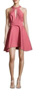 C/Meo Asymmetric Halter Dress