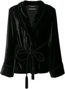 Alberta Ferretti velvet robe