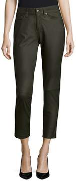 AG Adriano Goldschmied Women's Leather Skinny Pants