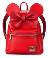 Disney Minnie Mouse Mini Backpack by Loungefly - Red