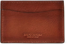 Ralph Lauren Burnished Vachetta Card Case