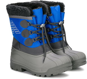 Armani Junior drawstring-front boots