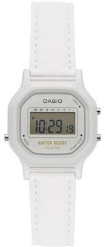 Casio Women's Casual Digital Watch, White