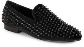 Saks Fifth Avenue Studded Tonal Slipper