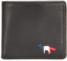 MAISON KITSUNÉ Tricolor Fox Wallet