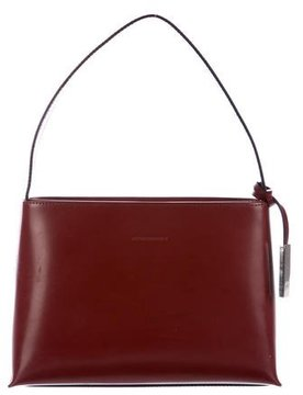 Burberry Leather Handle Bag - RED - STYLE