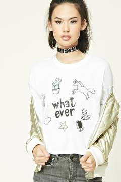 Forever 21 Whatever Graphic Tee