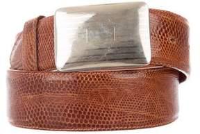 Ralph Lauren Lizard Waist Belt