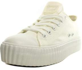 Coolway Britney Women Canvas White Fashion Sneakers.
