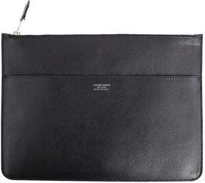 Giorgio Armani Leather clutch