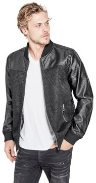 GUESS Men's Shade Mesh Bomber