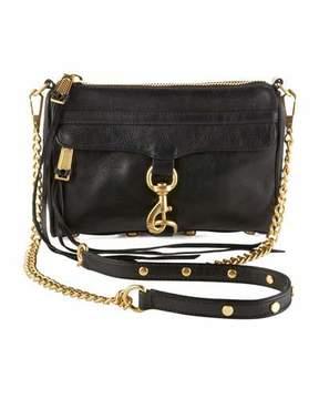 Rebecca Minkoff Mini MAC Crossbody Bag, Black
