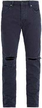 Neuw Ray distressed tapered-leg jeans
