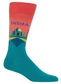 Hot Sox Coral India Socks