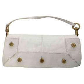 Givenchy White Leather Clutch Bag