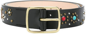 Paul Smith stud embellished belt