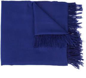 The Elder Statesman cashmere fringed scarf