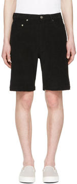 Noon Goons Black Club Cord Shorts