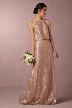 BHLDN Sequined Alana Dress