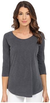 Alternative Washed Out Slub Minor League Baseball Tee Women's T Shirt