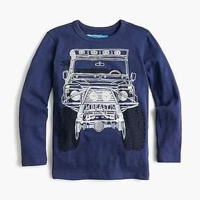 J.Crew Boys' long-sleeve monster truck T-shirt