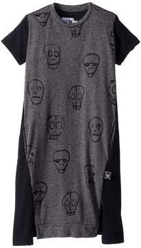 Nununu Skull Mask A Dress Girl's Dress