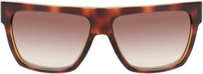 McQ Men's Injection Gradient Aviator Frame