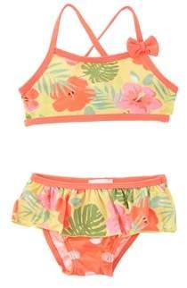 Chicco Girls' 2pc Yellow Floral Bikini.