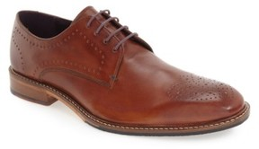 Ted Baker Men's 'Marar' Medallion Toe Derby